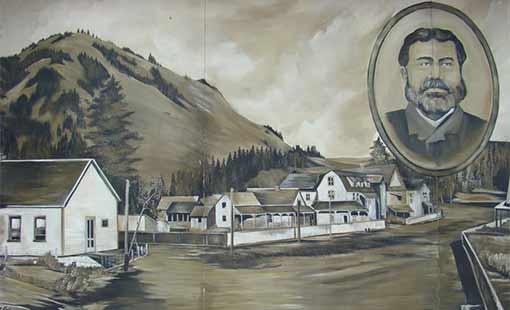 Lumby Wall Mural of Moses Lumby