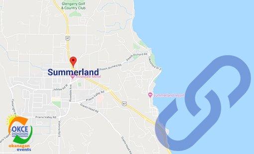Summerland BC Area Map