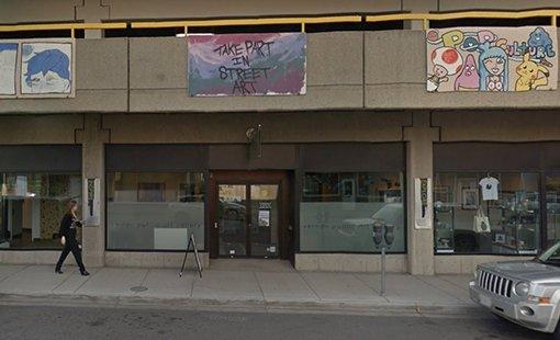Vernon Public Art Gallery-entrance view Vernon BC
